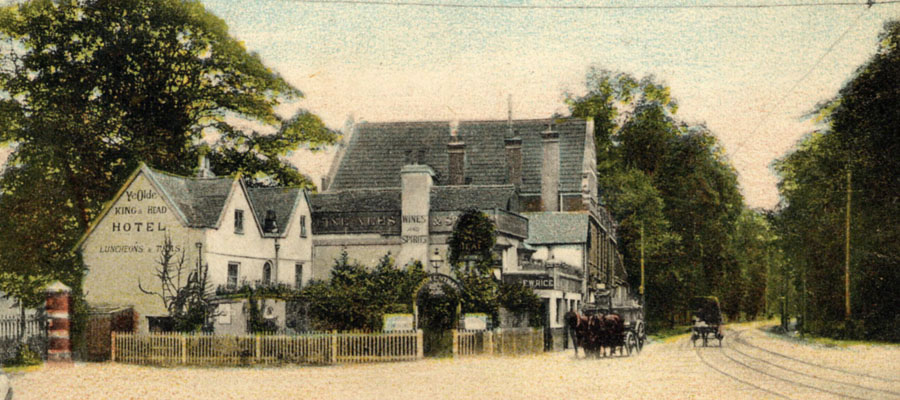 Kings Head Hampton Wick c1910