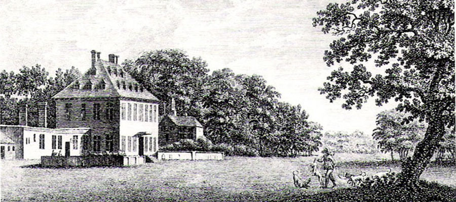 Upper Lodge, Bushy Park 1775