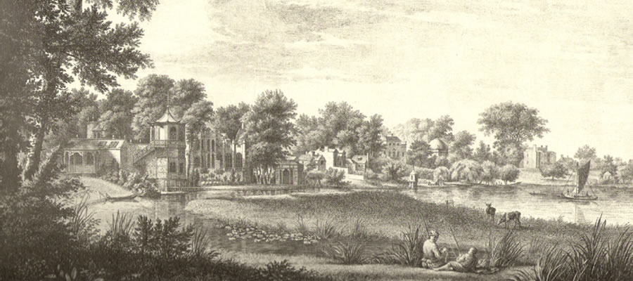 Strawberry Hill Riverside 1756